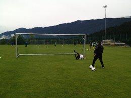 Neo-Trainer Kunic Dragan absolvierte erste Einheit