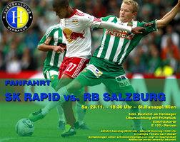 FANFAHRT RAPID vs. RB SALZBURG